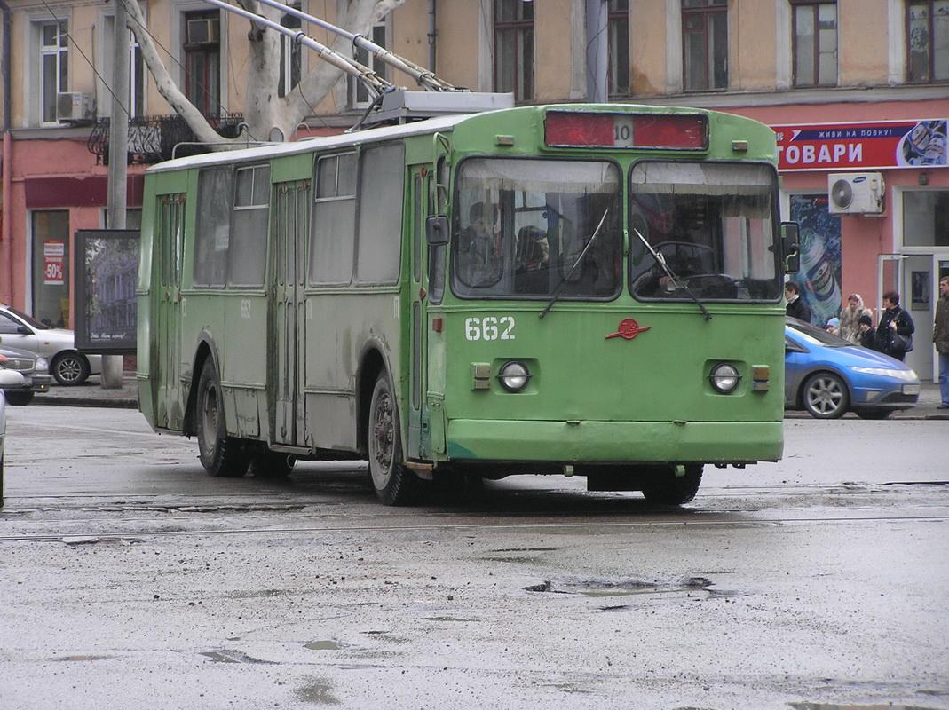Одесса. ЗиУ-682В-012 (ЗиУ-682В0А) №662