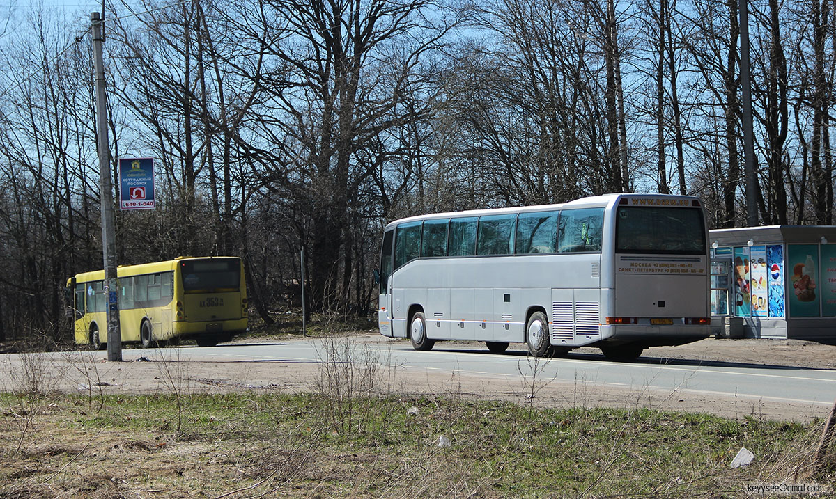 Санкт-Петербург. Golden Dragon XML6112 ах353, Mercedes O404 ау956