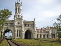 Санкт-Петербург. Вокзал станции Новый Петергоф
