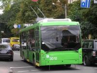 Одесса. Троллейбус ТролЗа-5265 Мегаполис №3012, маршрут 1