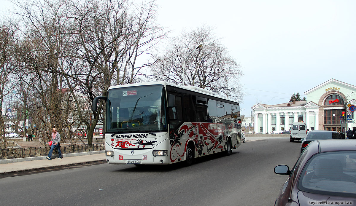 Выборг. Irisbus Crossway 12.8M в134кс