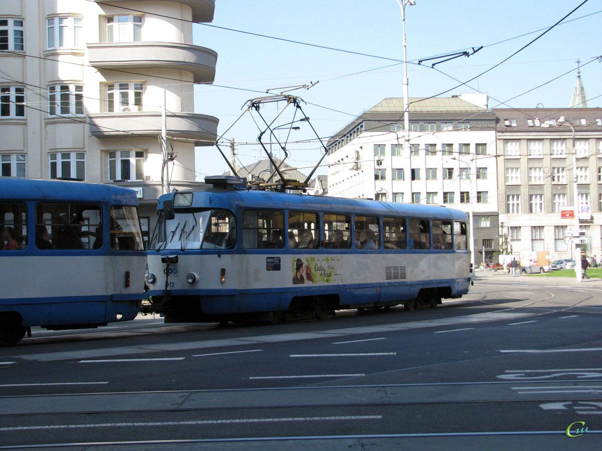 Острава. Tatra T3 №912