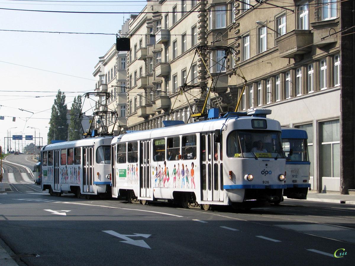 Острава. Tatra T3SUCS №926, Tatra T3 №921