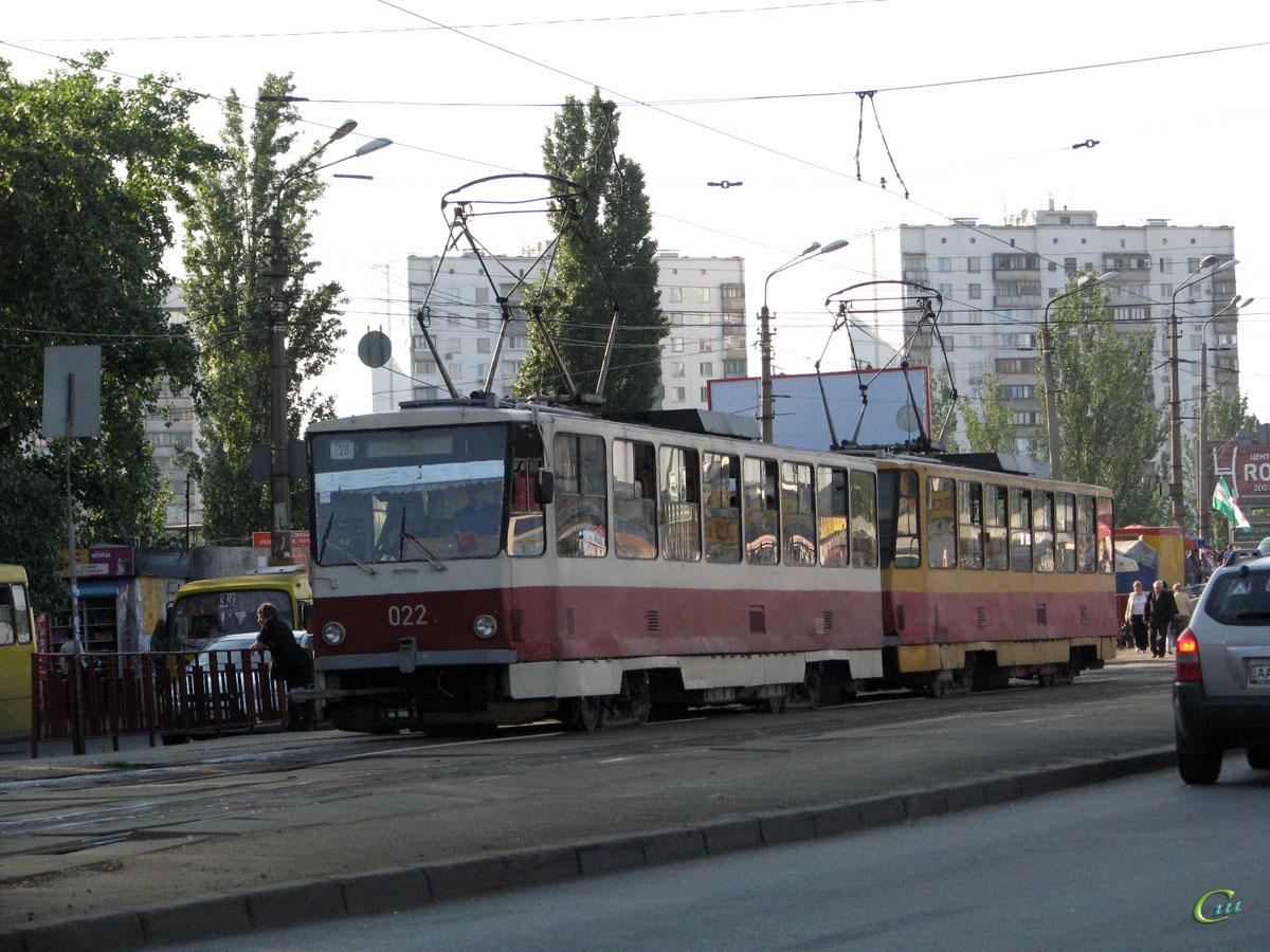 Киев. Tatra T6B5 (Tatra T3M) №022, Tatra T6B5 (Tatra T3M) №007