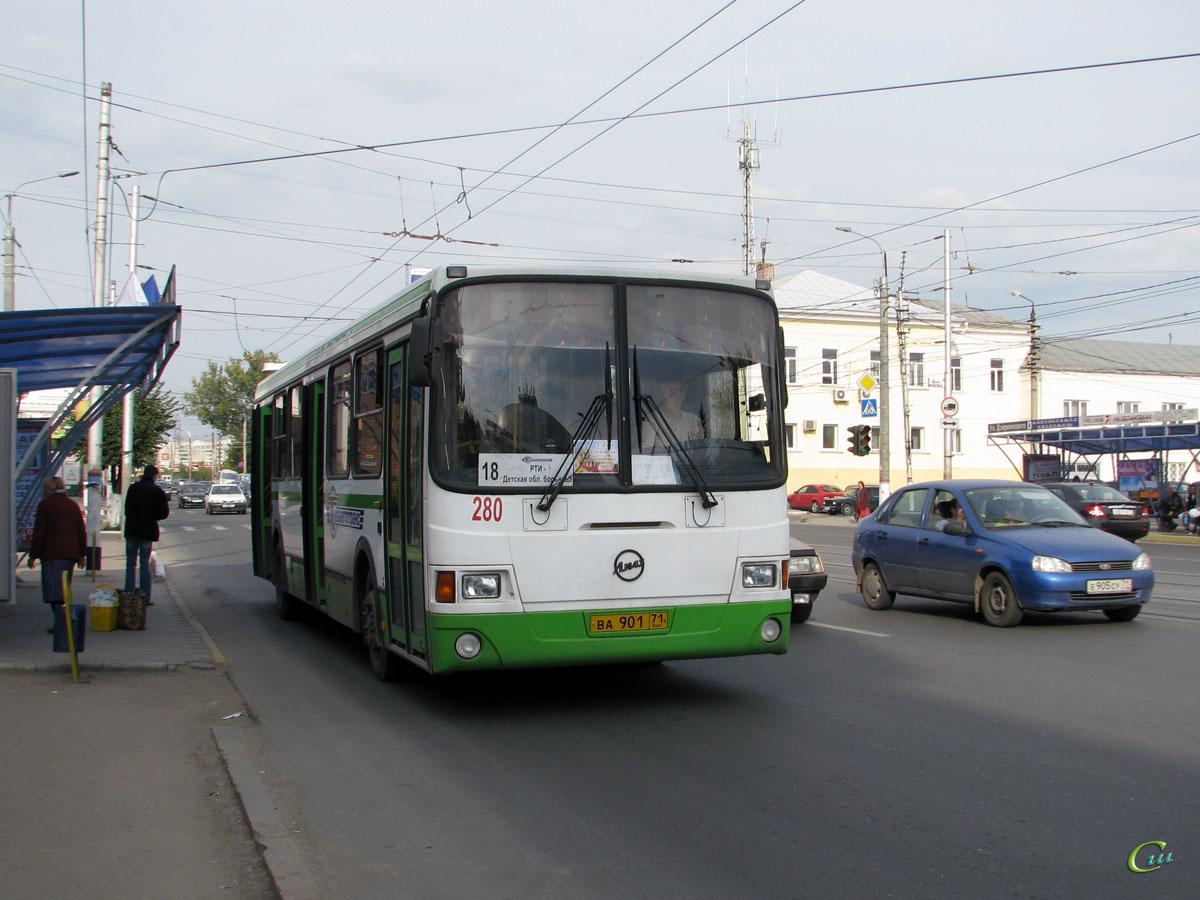 Тула. ЛиАЗ-5256 ва901