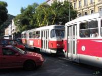 Прага. Tatra T3 №8329