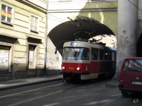 Прага. Tatra T3SUCS №7182