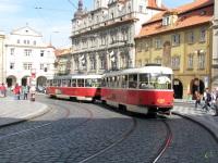 Прага. Tatra T3 №8354, Tatra T3 №8353