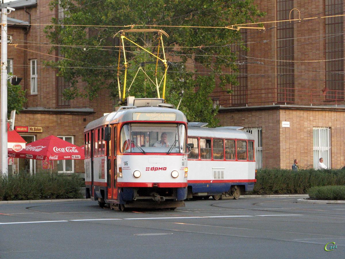 Оломоуц. Tatra T3 №146, Tatra T3 №145