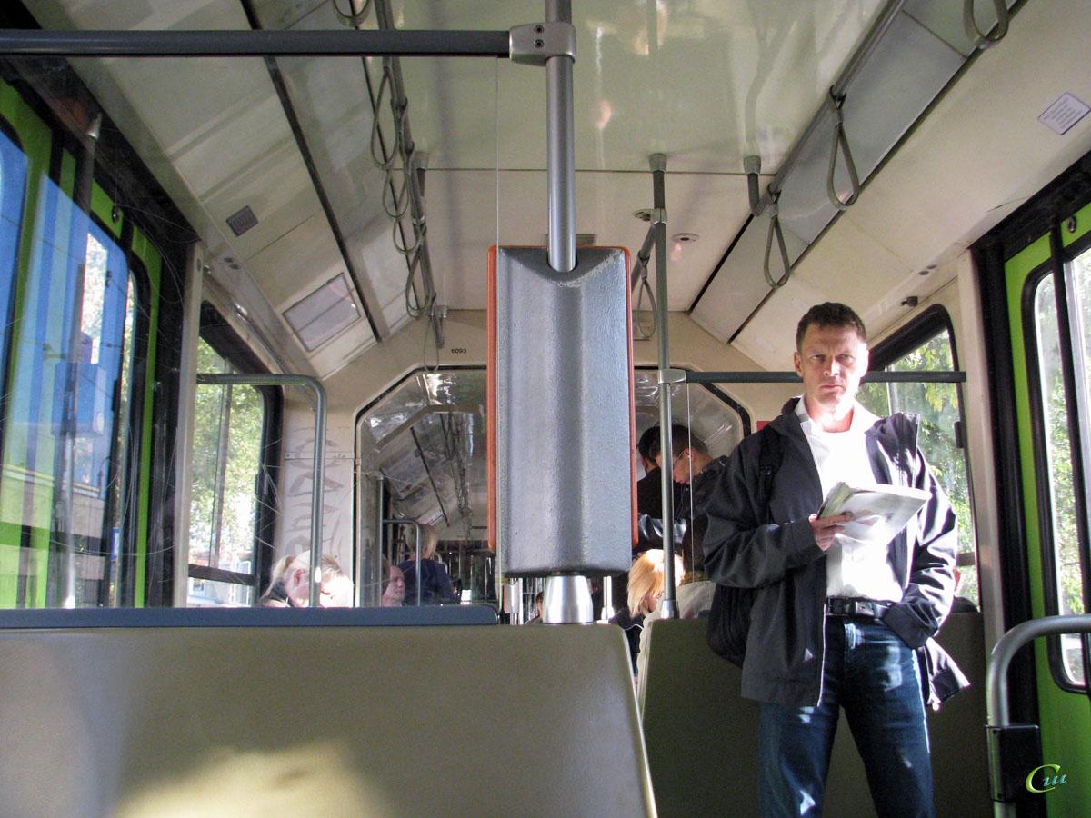 Будапешт. Duewag TW6000 №1517