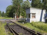 Приозерск. Пересечение железнодорожной ветки Приозерского ЦБК и Ленинградского шоссе