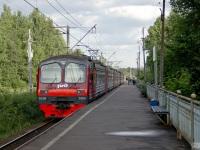 Приозерск. Электропоезд ЭД4М-0389