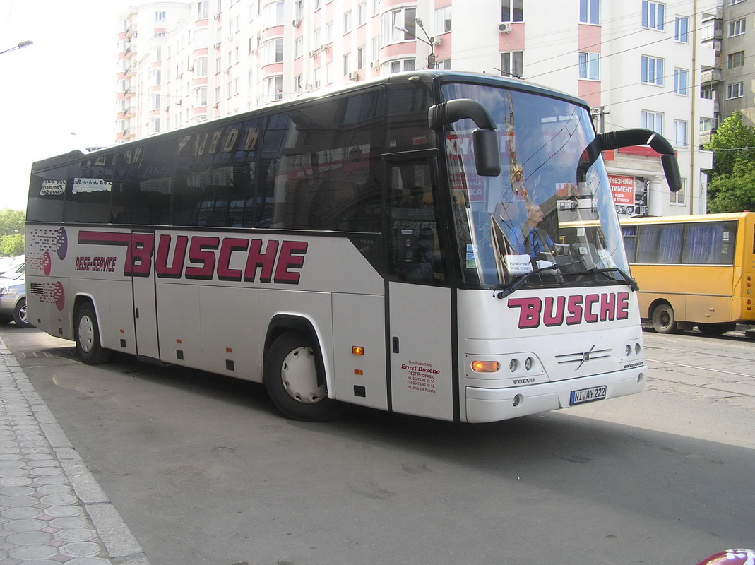 Одесса. Drögmöller EuroComet (Volvo B12-600) NI-AY 222