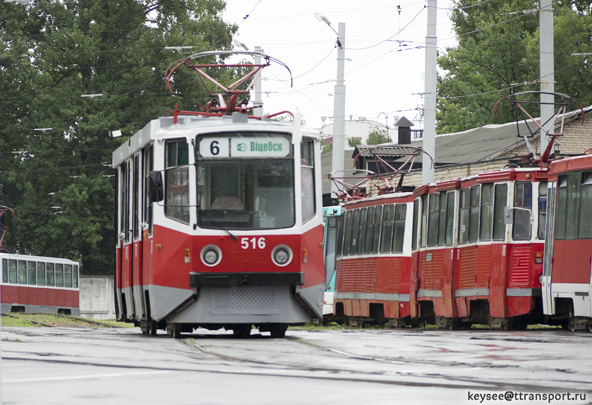 Витебск. 71-608КМ (КТМ-8М) №516