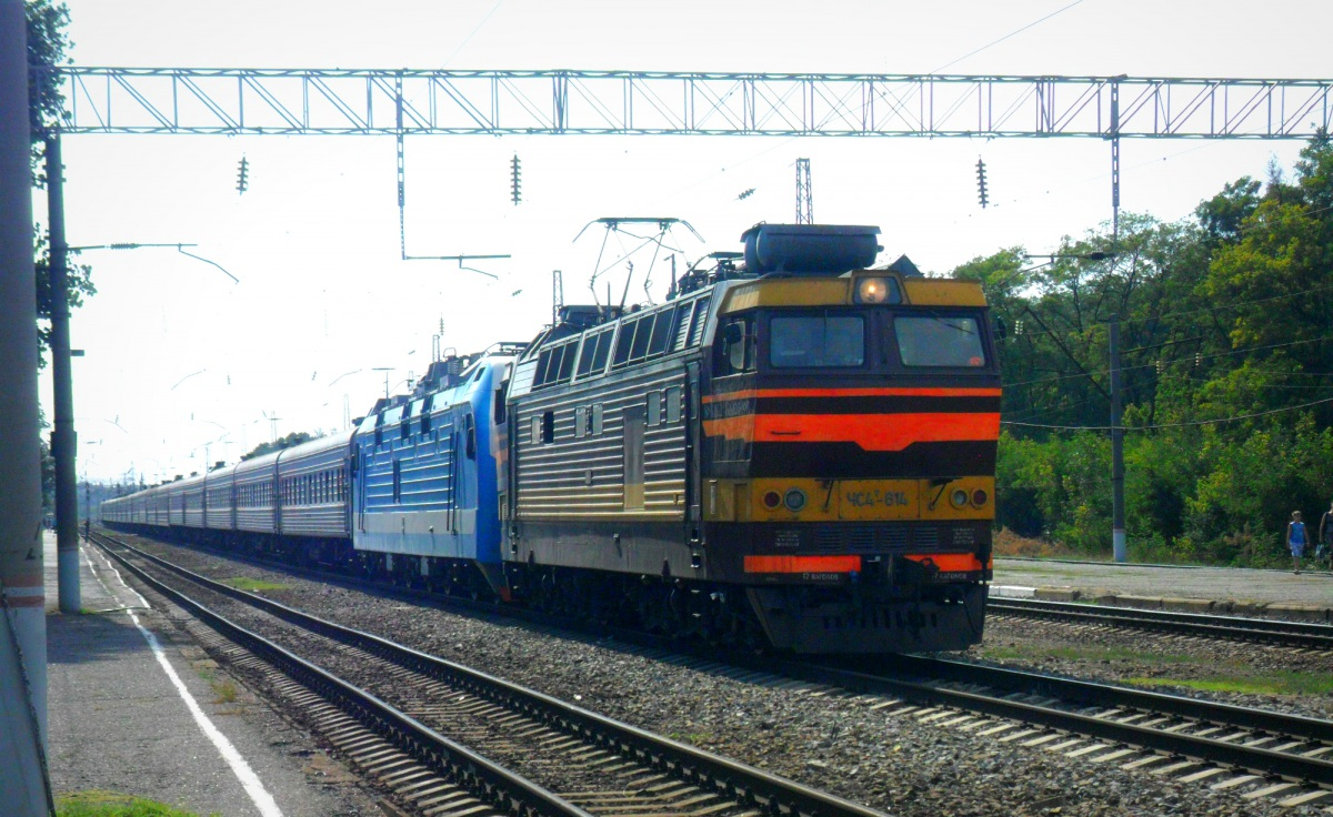 Таганрог. ЧС4т-614
