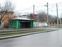 Одесса. Бельгийский остановочный павильон