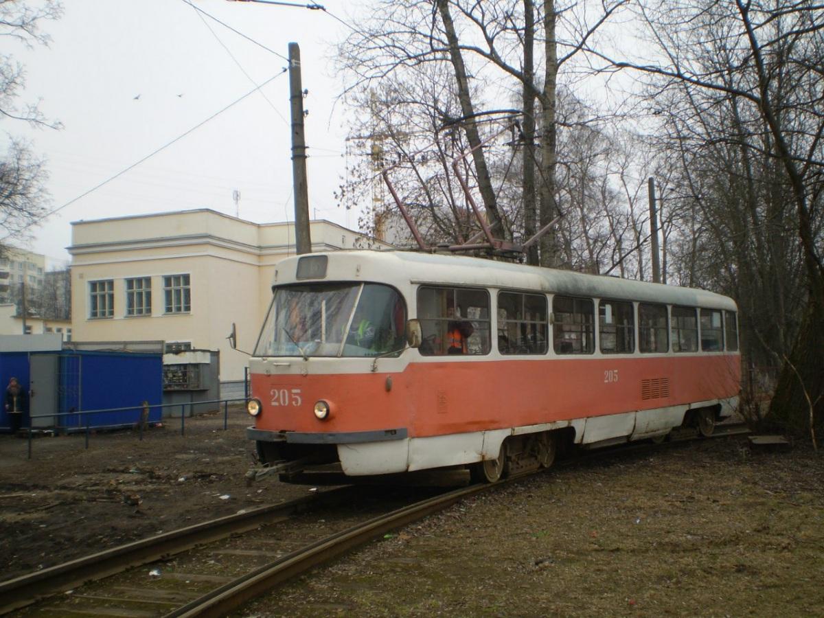 Тверь. Tatra T3SU №205