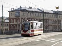 Санкт-Петербург. Трамвай 71-134А (ЛМ-99АЭН) №1386, маршрут 16
