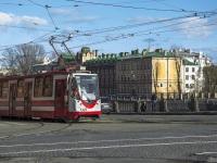 Санкт-Петербург. Трамвай 71-134А (ЛМ-99АЭН) №1325, маршрут 16