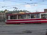 Санкт-Петербург. Трамвай 71-134А (ЛМ-99АЭН) №1383, маршрут 16