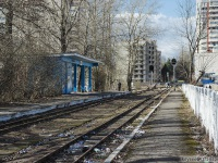 Санкт-Петербург. Станция Юный МОЖД (Северная трасса)