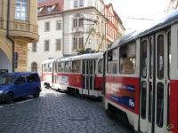 Прага. Tatra T3 №7037