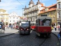 Прага. Tatra T3 №7037, Tatra T3R.PLF №8262