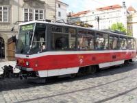Прага. Tatra T6A5 №8714