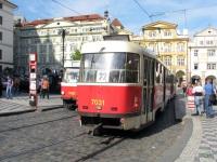 Прага. Tatra T3SUCS №7031