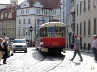 Прага. Tatra T3 №8348
