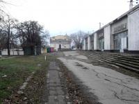 Шахты. Бывшая конечная остановка трамваев Железнодорожный вокзал (маршруты №1 и 5)