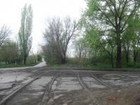 Шахты. Останки трамвайных рельс