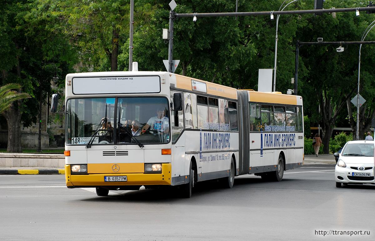Варна. Mercedes O405G B 0357 PM