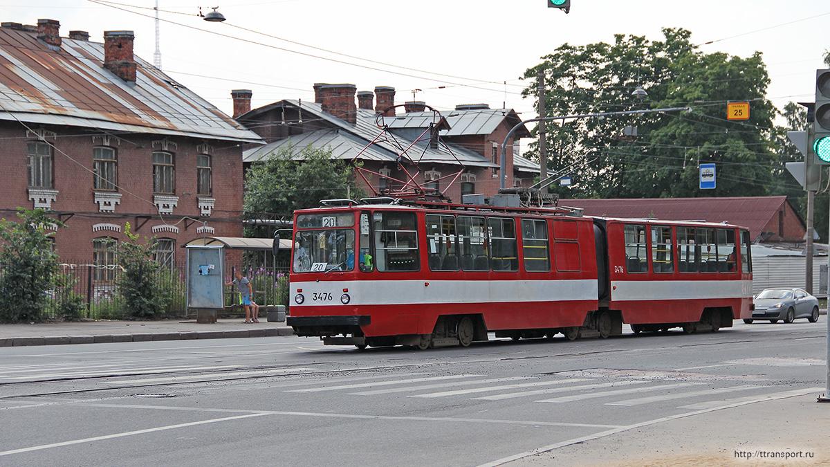 Санкт-Петербург. ЛВС-86К №3476