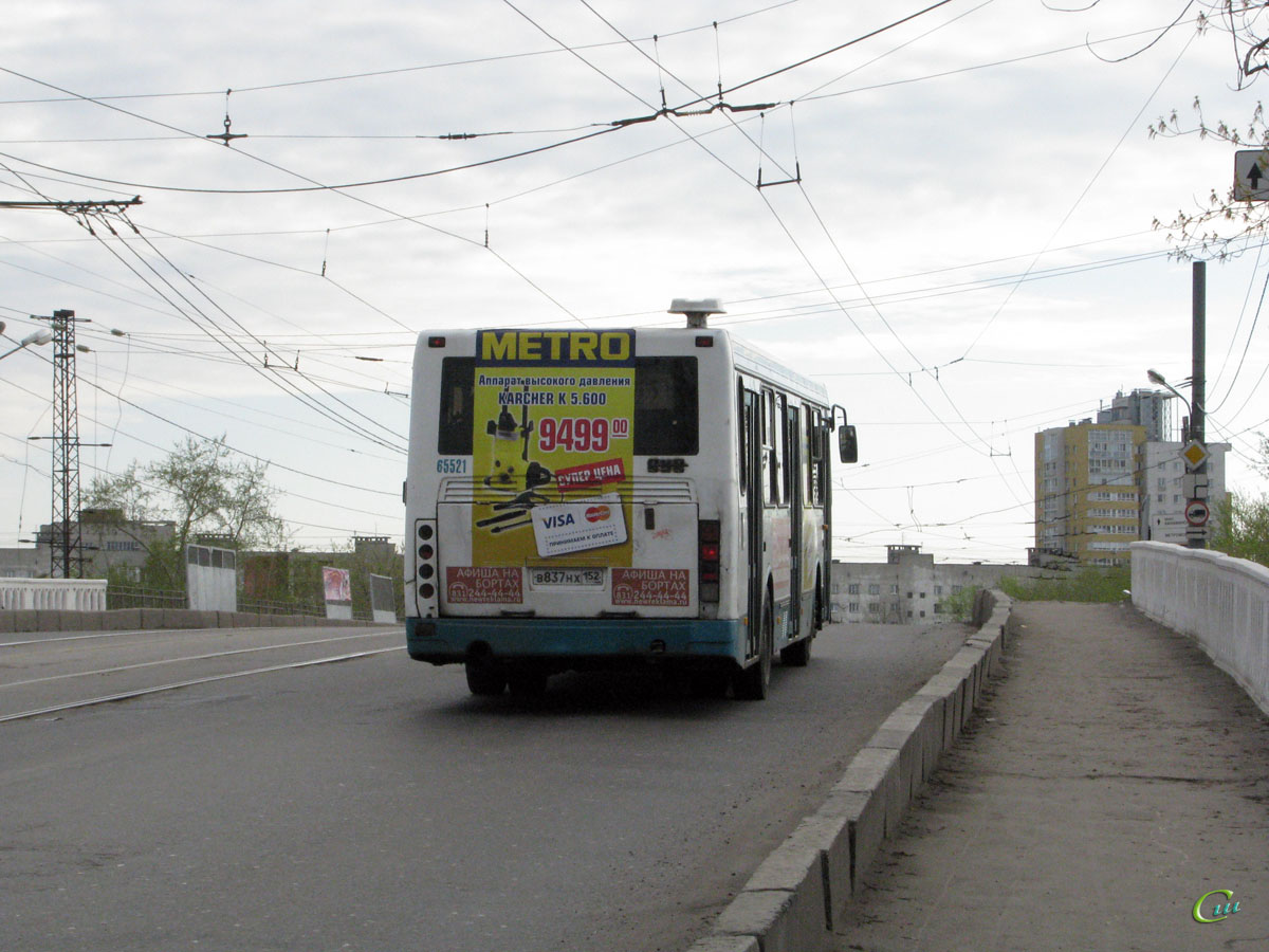 Нижний Новгород. ЛиАЗ-5256 в837нх