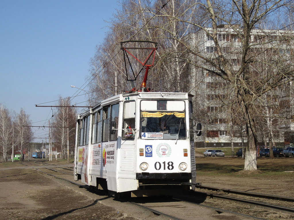 Набережные Челны. 71-605 (КТМ-5) №018
