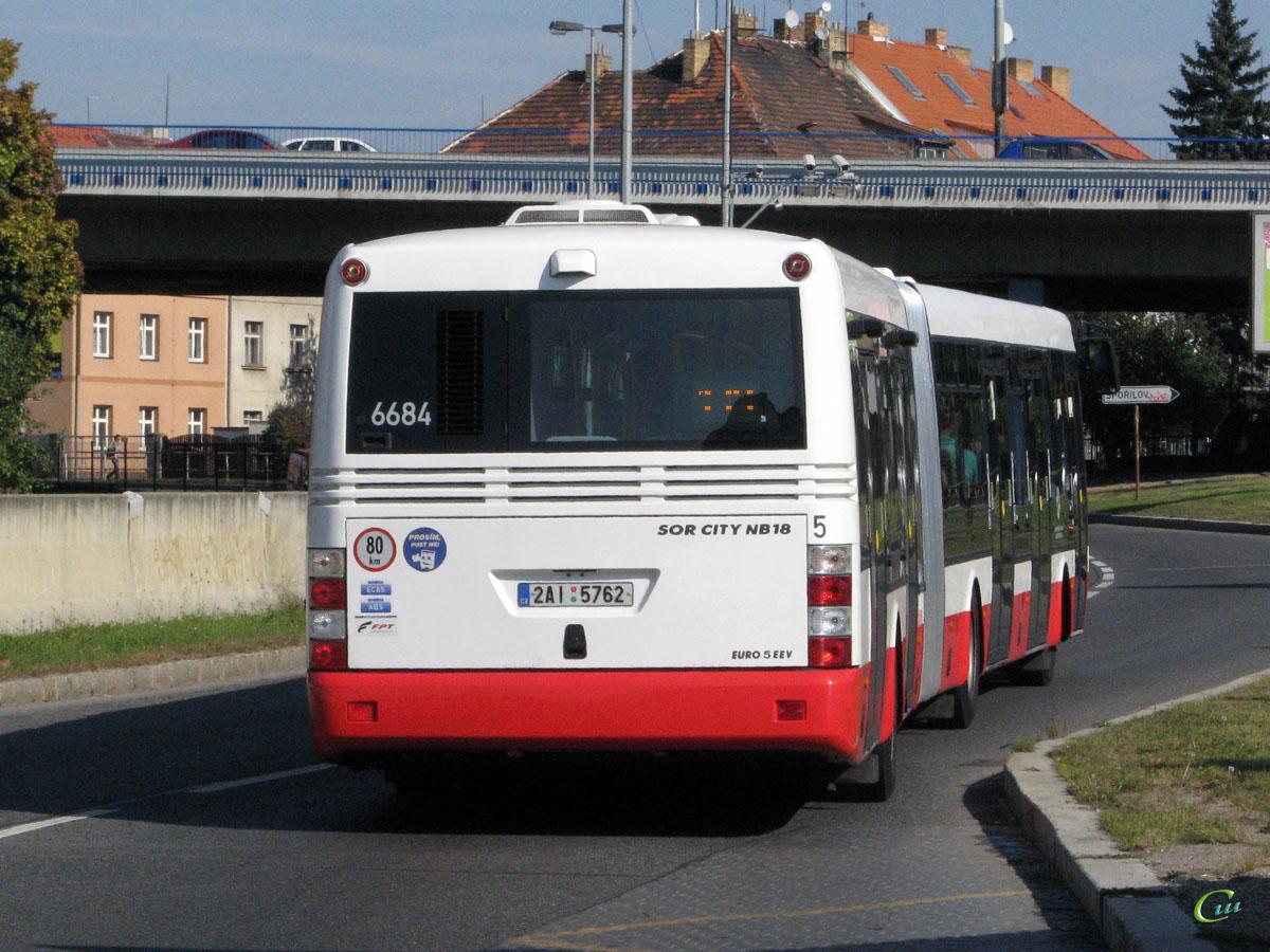 Прага. SOR NB 18 2AI 5762