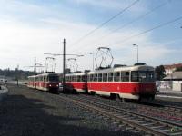 Прага. Tatra T3 №8432, Tatra T3 №8433, Tatra T3R.PV №8167