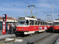 Прага. Tatra T3 №8308