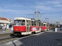 Прага. Tatra T3SUCS №7027