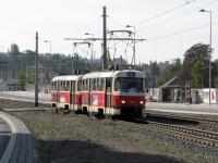Прага. Tatra T3SUCS №7144