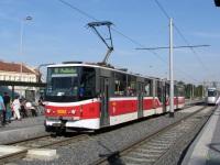 Прага. Tatra KT8D5 №9082