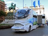 Белград. Машина будущего Colani Space Truck (W 76500 X)(Австрия)