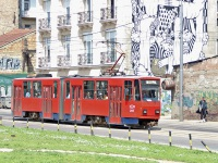 Белград. Tatra KT4 №285