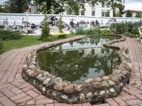 Витебск. Скверик на территории трамвайного депо