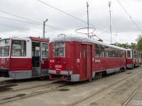 Витебск. РВЗ-6М2 №412, 71-608КМ (КТМ-8М) №513