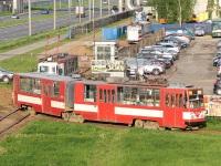 Санкт-Петербург. Трамвай ЛВС-86К №3085, маршрут 21