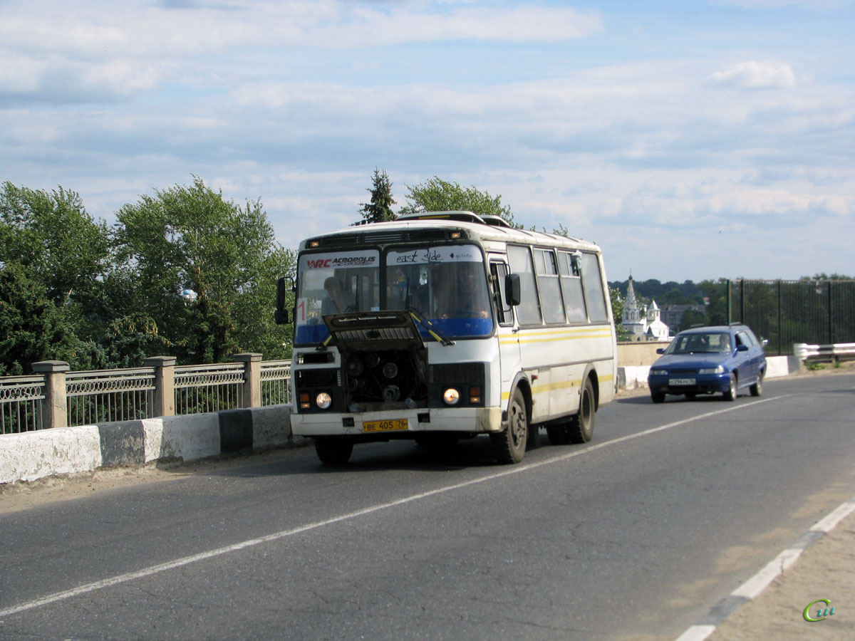 Углич. ПАЗ-32054 ве405