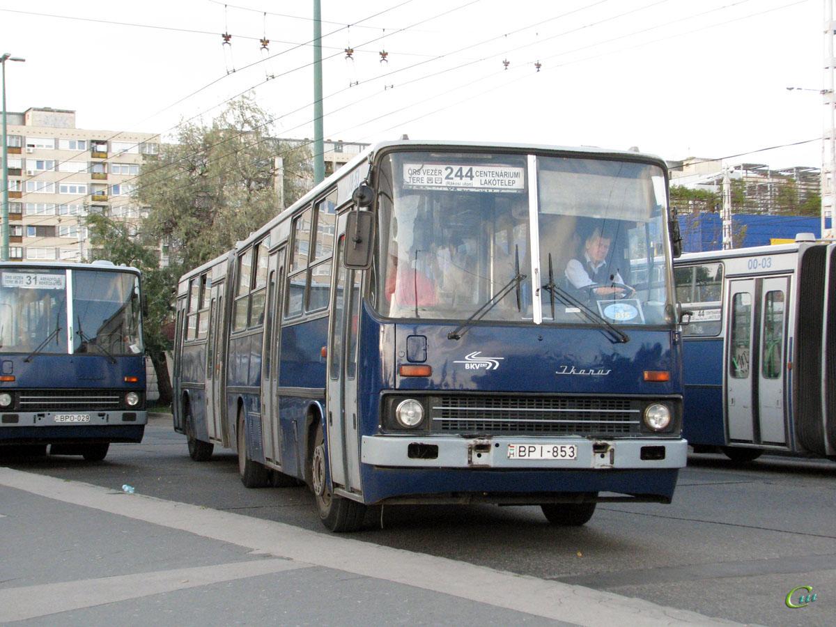 Будапешт. Ikarus 280.49 BPI-853