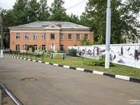 Витебск. Трамвайное депо / Здание администрации и скверик для отдыха